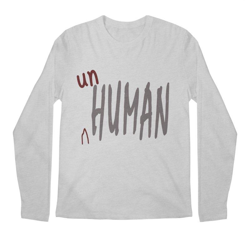 Unhuman Men's Regular Longsleeve T-Shirt by Unhuman Design