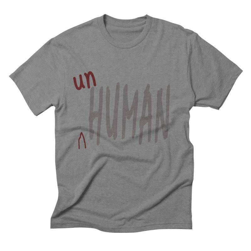 Unhuman Men's Triblend T-Shirt by Unhuman Design
