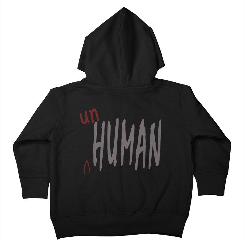 Unhuman Kids Toddler Zip-Up Hoody by Unhuman Design