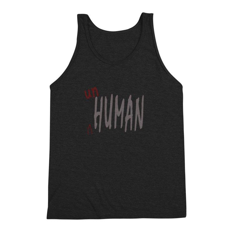 Unhuman Men's Triblend Tank by Unhuman Design
