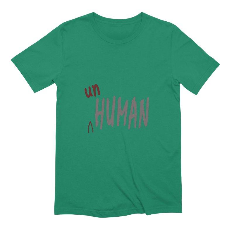 Unhuman Men's T-Shirt by Unhuman Design