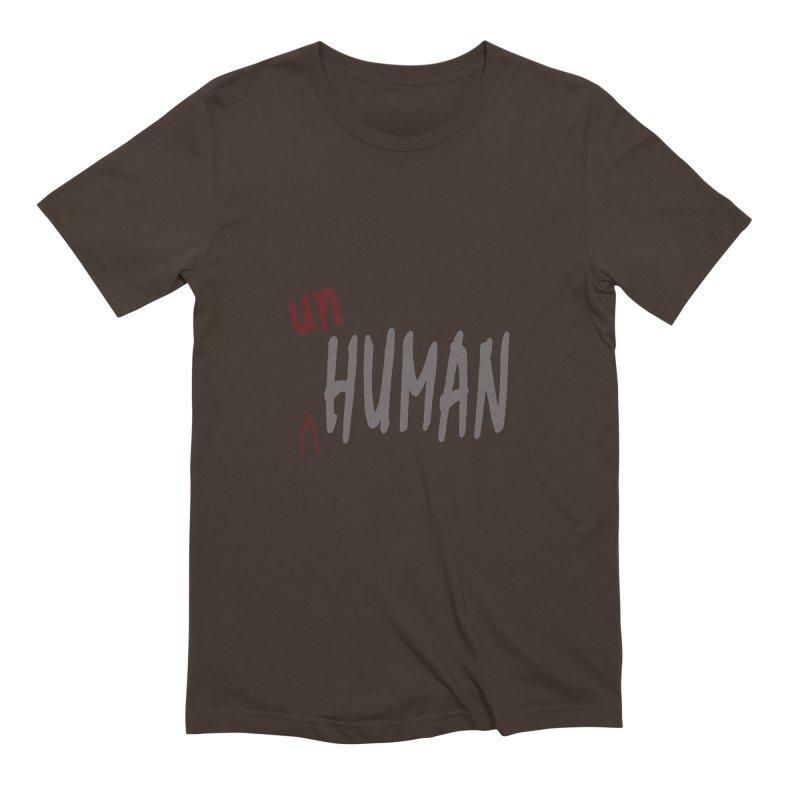 Unhuman Men's Extra Soft T-Shirt by Unhuman Design