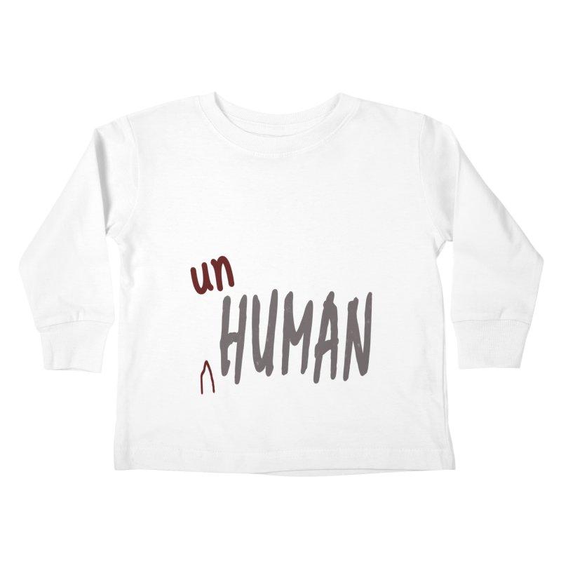 Unhuman Kids Toddler Longsleeve T-Shirt by Unhuman Design