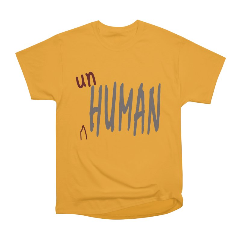 Unhuman Men's Classic T-Shirt by Unhuman Design
