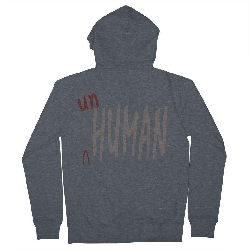 Unhuman Women's Zip-Up Hoody by Unhuman Design