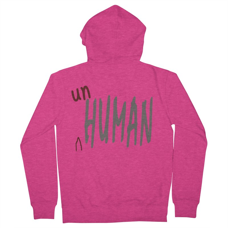 Unhuman Women's Zip-Up Hoody by Unhuman Design