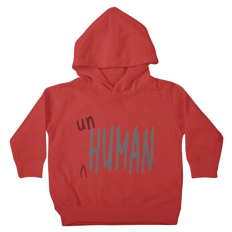 Unhuman Kids Toddler Pullover Hoody by Unhuman Design