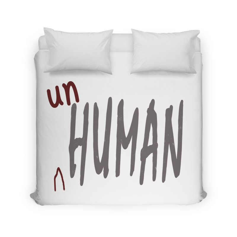 Unhuman Home Duvet by Unhuman Design