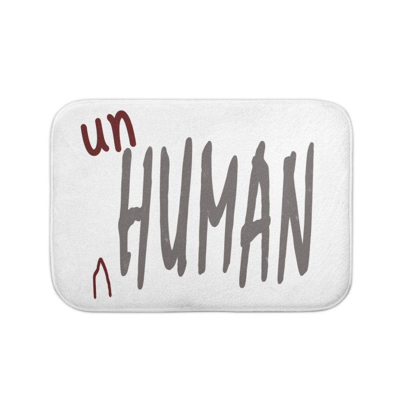 Unhuman Home Bath Mat by Unhuman Design
