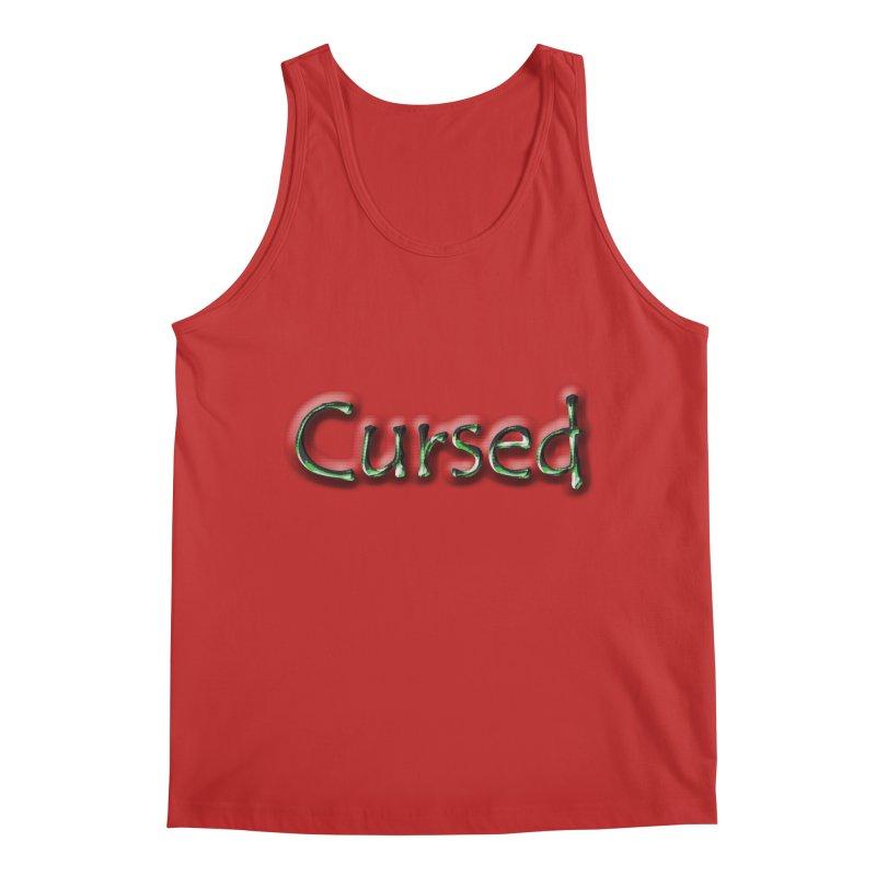 Cursed Men's Regular Tank by Unhuman Design