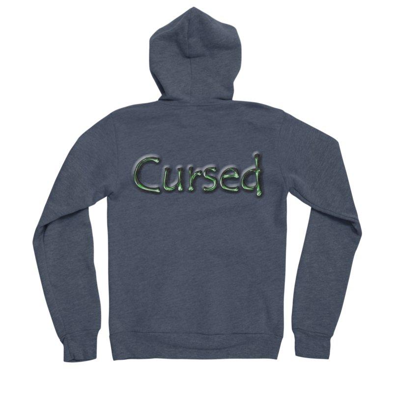 Cursed Women's Sponge Fleece Zip-Up Hoody by Unhuman Design