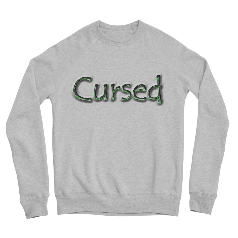 Cursed Men's Sponge Fleece Sweatshirt by Unhuman Design