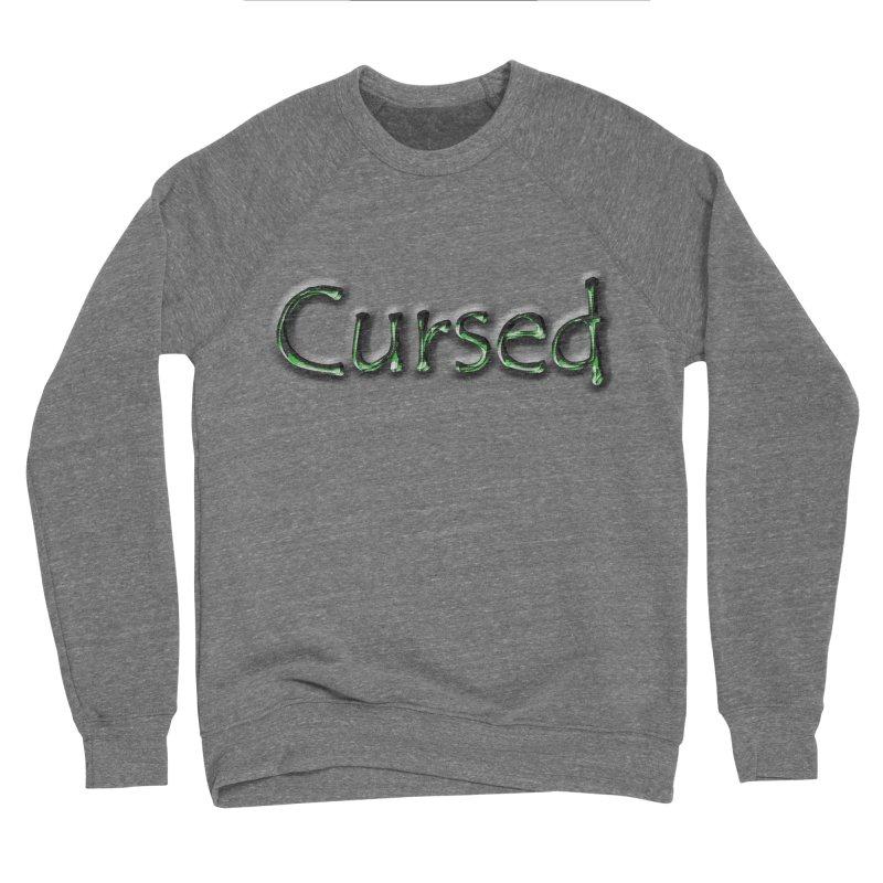 Cursed Men's Sponge Fleece Sweatshirt by Unhuman Design