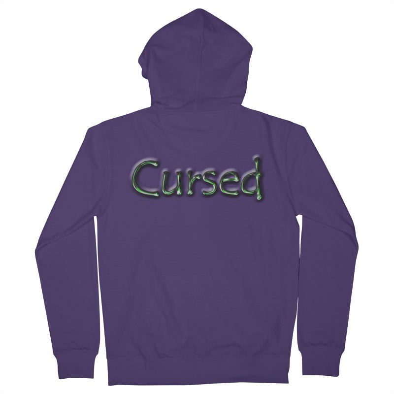 Cursed Women's Zip-Up Hoody by Unhuman Design
