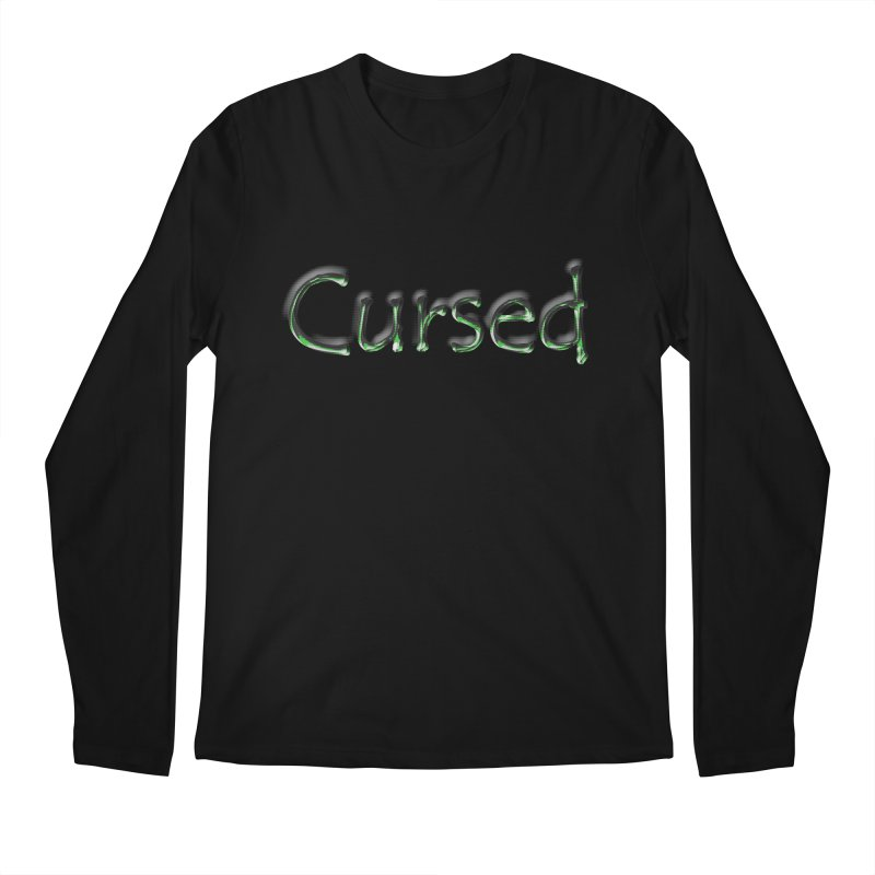 Cursed Men's Longsleeve T-Shirt by Unhuman Design