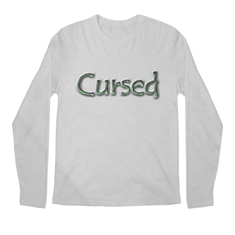 Cursed Men's Regular Longsleeve T-Shirt by Unhuman Design