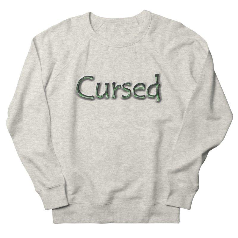 Cursed Women's French Terry Sweatshirt by Unhuman Design