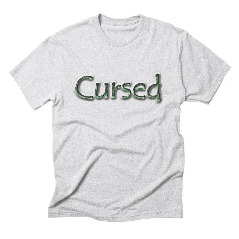Cursed Men's Triblend T-Shirt by Unhuman Design