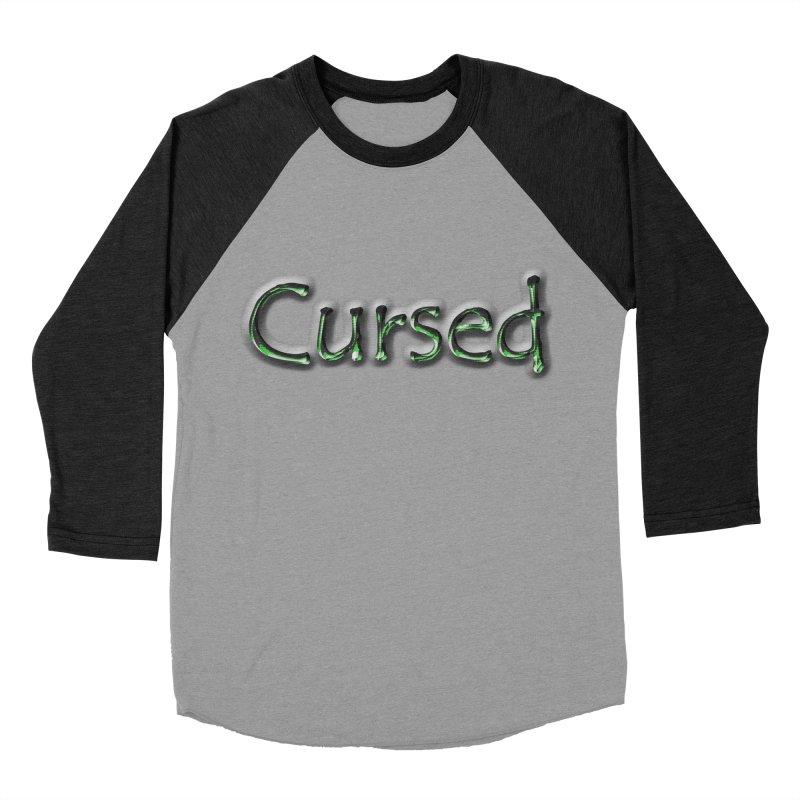 Cursed Men's Baseball Triblend Longsleeve T-Shirt by Unhuman Design