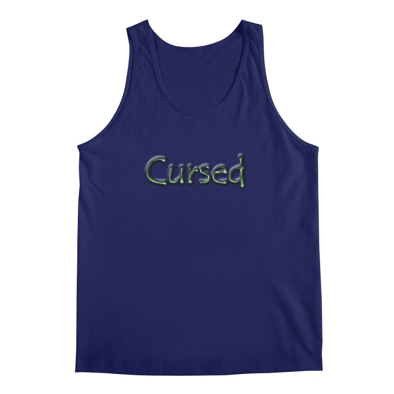 Cursed Men's Regular Tank by Unhuman Design