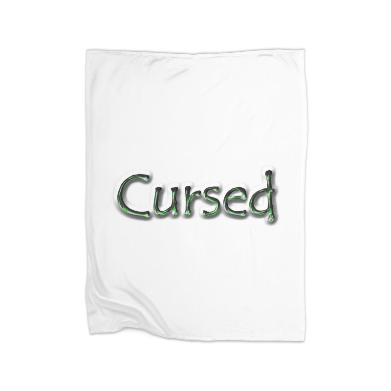 Cursed Home Blanket by Unhuman Design