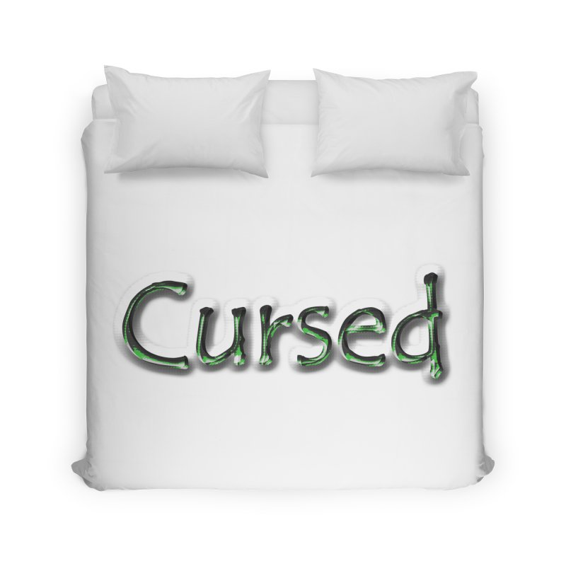 Cursed Home Duvet by Unhuman Design