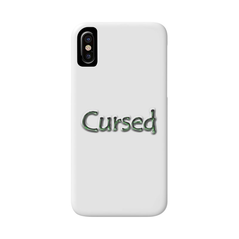 Cursed Accessories Phone Case by Unhuman Design