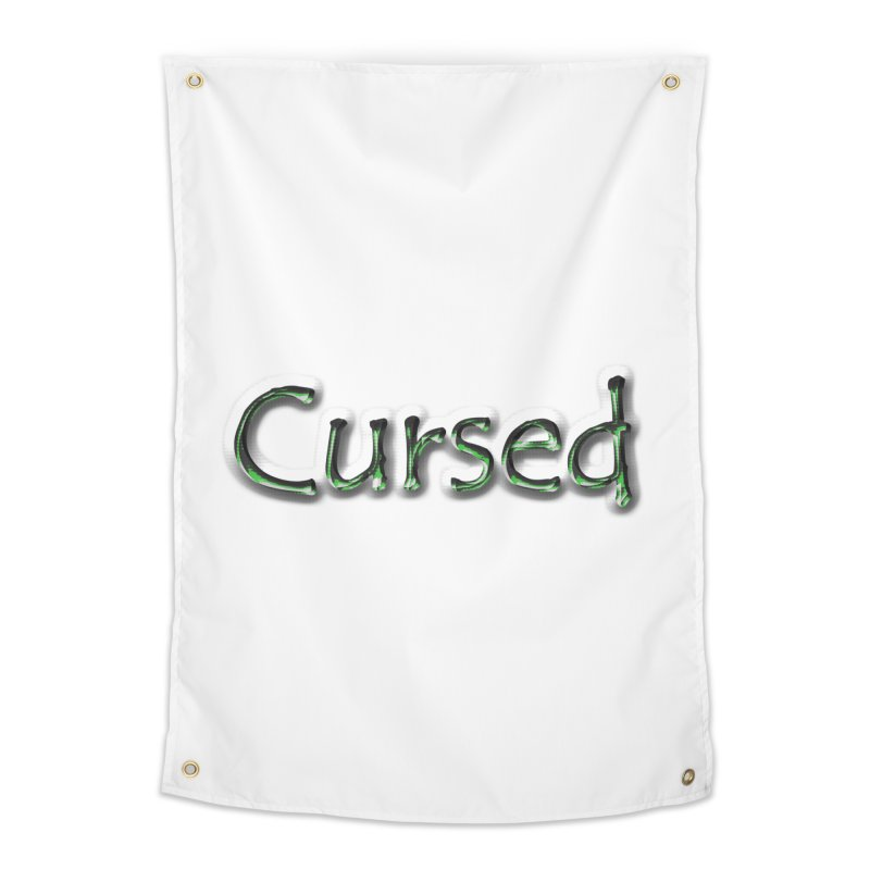Cursed Home Tapestry by Unhuman Design