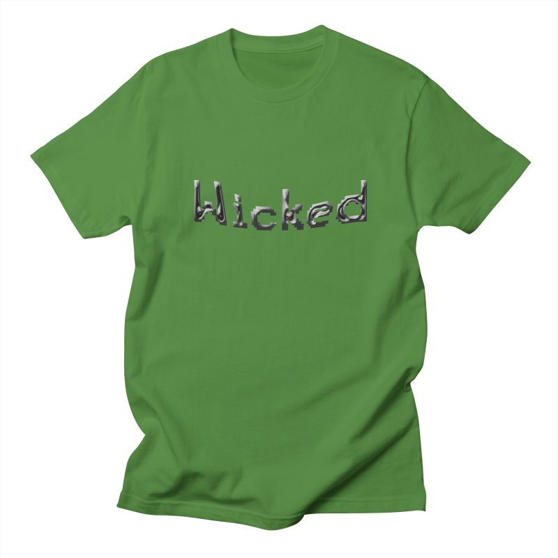 Wicked Women's Regular Unisex T-Shirt by Unhuman Design