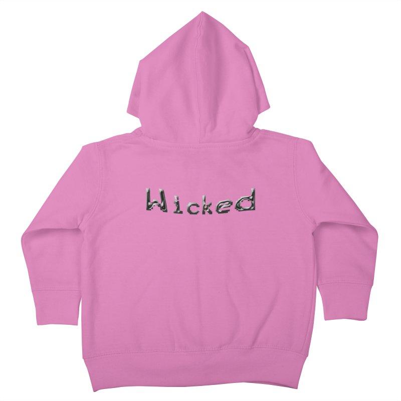 Wicked Kids Toddler Zip-Up Hoody by Unhuman Design