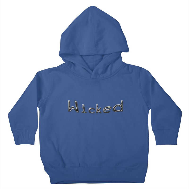 Wicked Kids Toddler Pullover Hoody by Unhuman Design