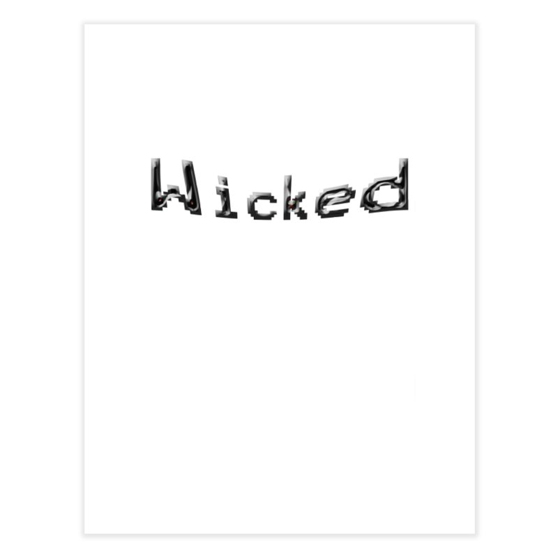 Wicked Home Fine Art Print by Unhuman Design