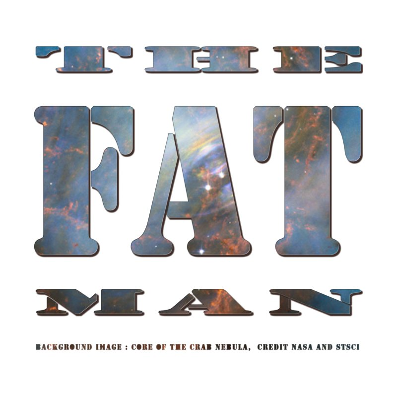 The Fat Man Men's T-Shirt by Unhuman Design