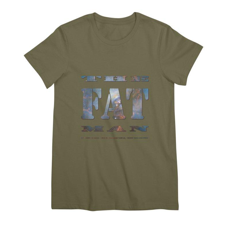The Fat Man Women's Premium T-Shirt by Unhuman Design