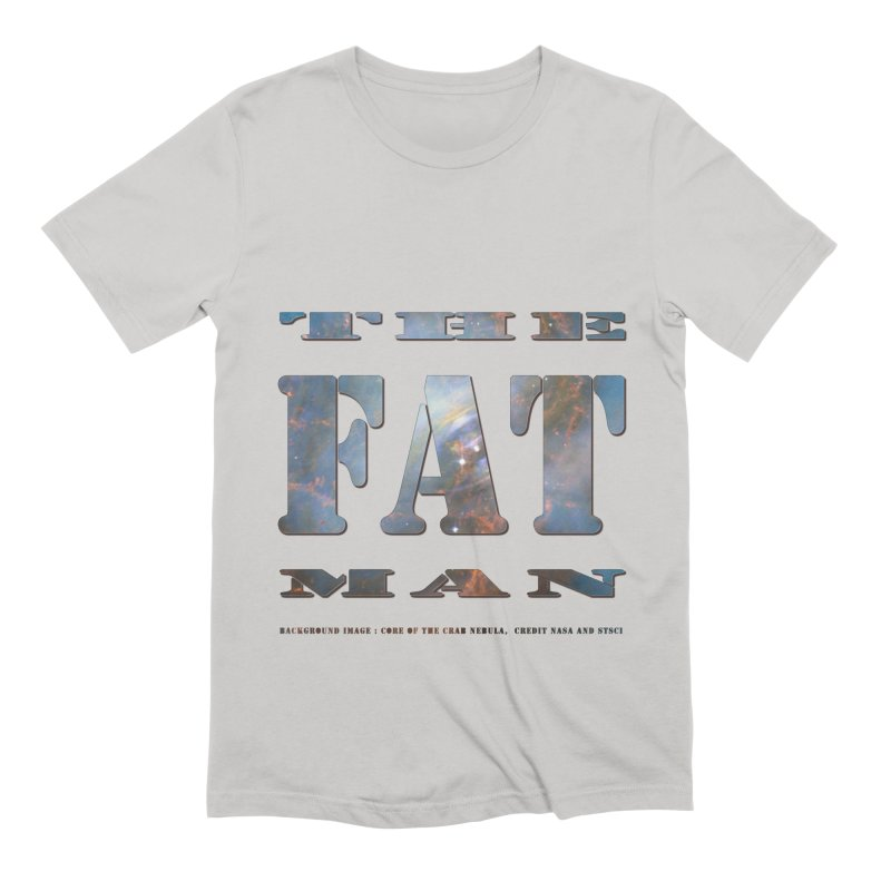 The Fat Man Men's Extra Soft T-Shirt by Unhuman Design