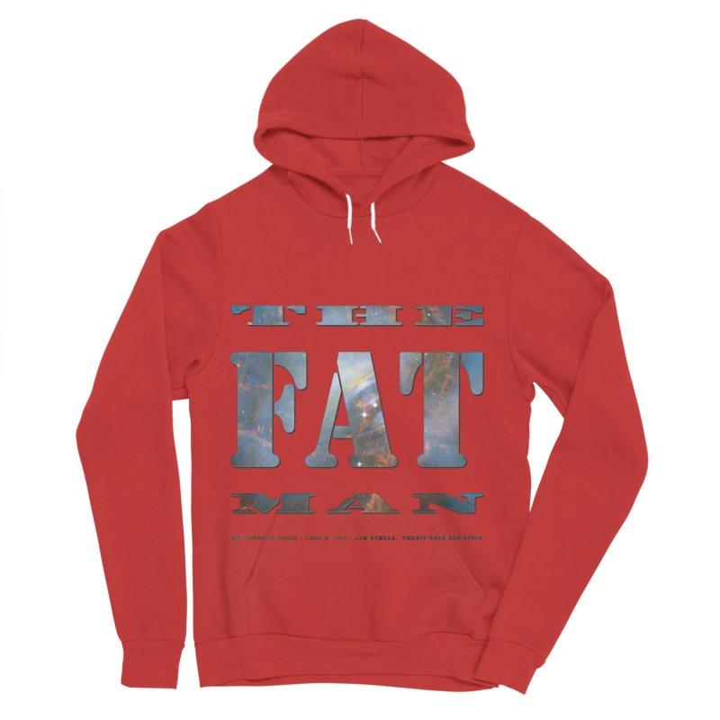 The Fat Man Women's Sponge Fleece Pullover Hoody by Unhuman Design