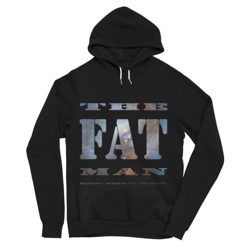 The Fat Man Men's Sponge Fleece Pullover Hoody by Unhuman Design