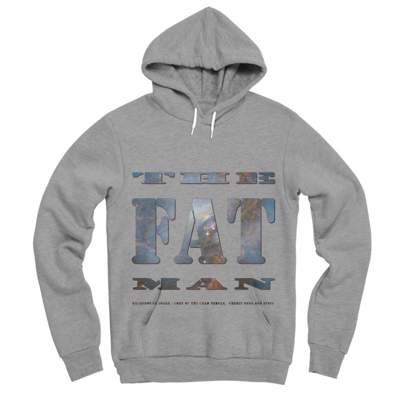 The Fat Man Men's Sponge Fleece Pullover Hoody by Unhuman Design
