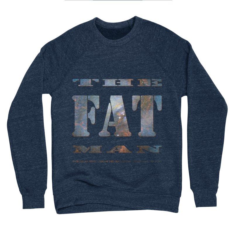 The Fat Man Men's Sponge Fleece Sweatshirt by Unhuman Design