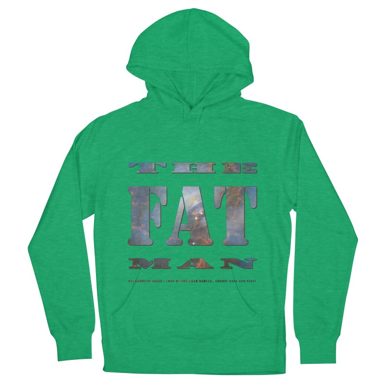 The Fat Man Men's French Terry Pullover Hoody by Unhuman Design