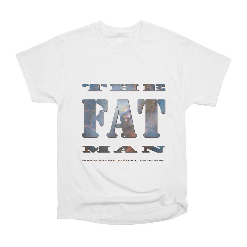 The Fat Man Men's Heavyweight T-Shirt by Unhuman Design