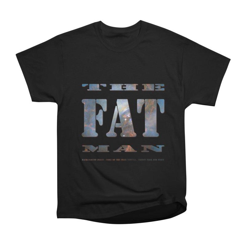 The Fat Man Women's Heavyweight Unisex T-Shirt by Unhuman Design