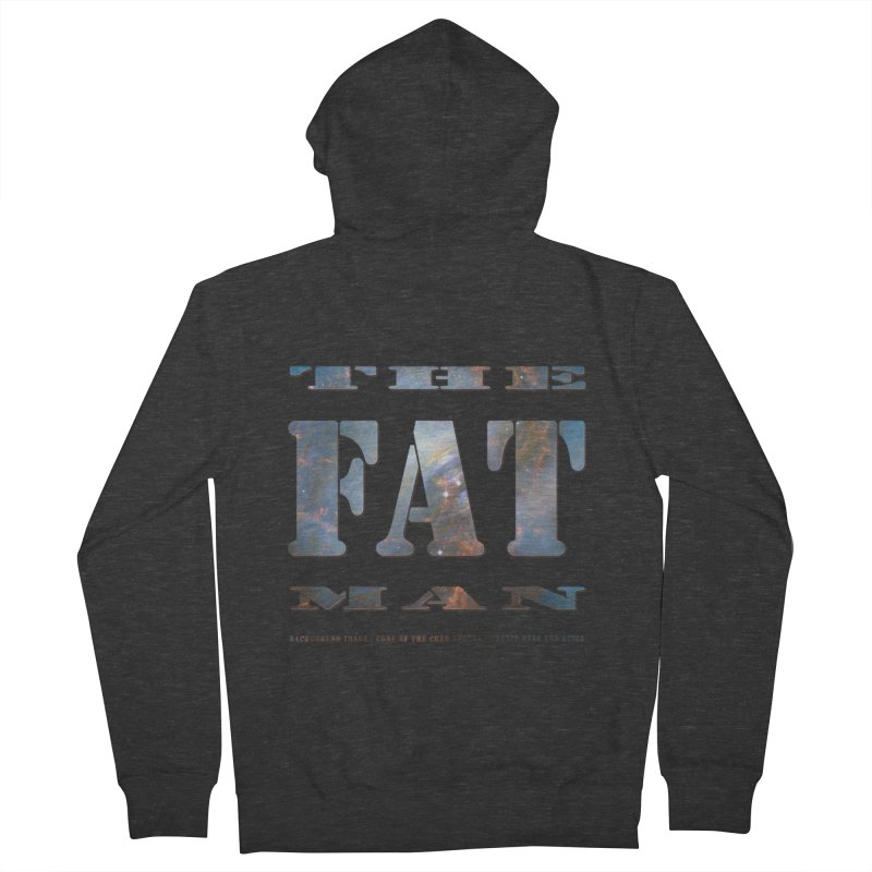 The Fat Man Women's French Terry Zip-Up Hoody by Unhuman Design