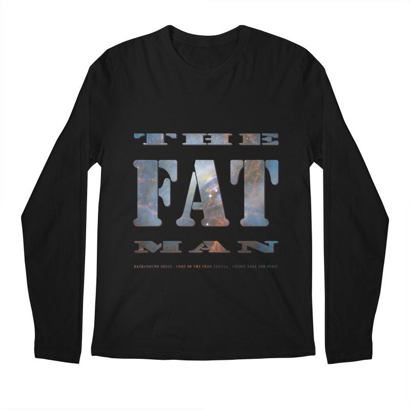 The Fat Man Men's Regular Longsleeve T-Shirt by Unhuman Design