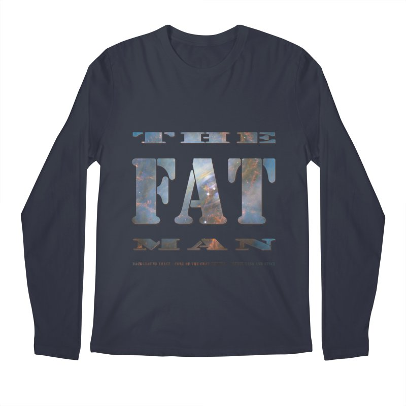 The Fat Man Men's Regular Longsleeve T-Shirt by Unhuman Design