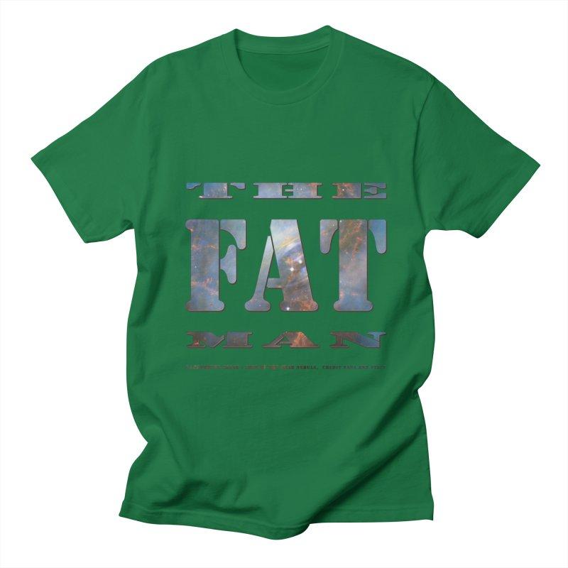 The Fat Man Men's Regular T-Shirt by Unhuman Design