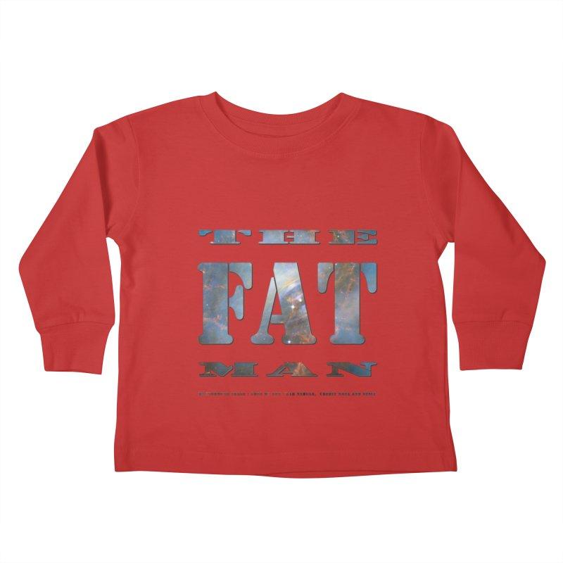 The Fat Man Kids Toddler Longsleeve T-Shirt by Unhuman Design
