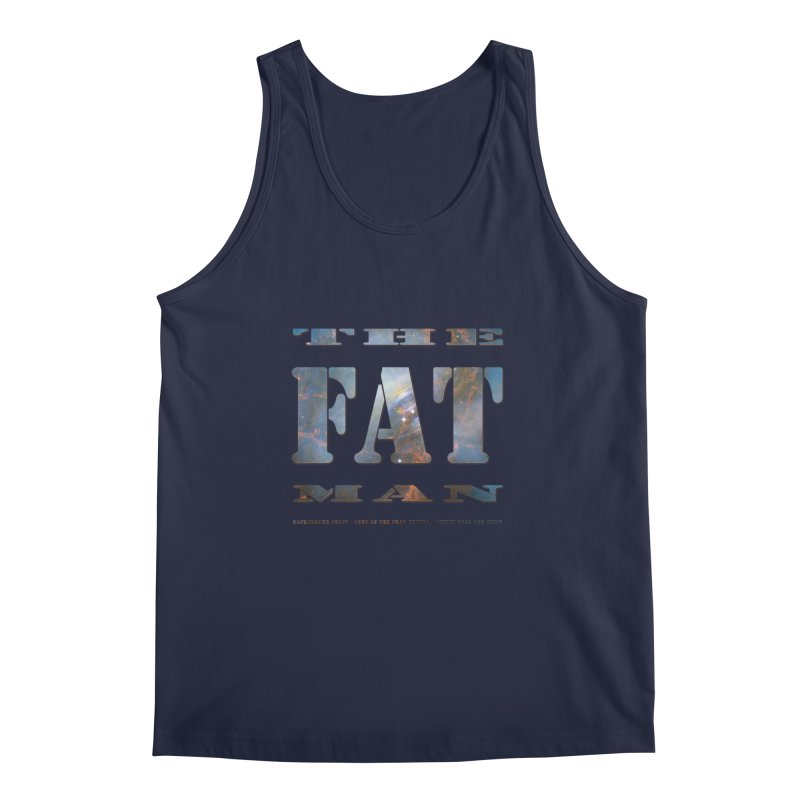 The Fat Man Men's Regular Tank by Unhuman Design