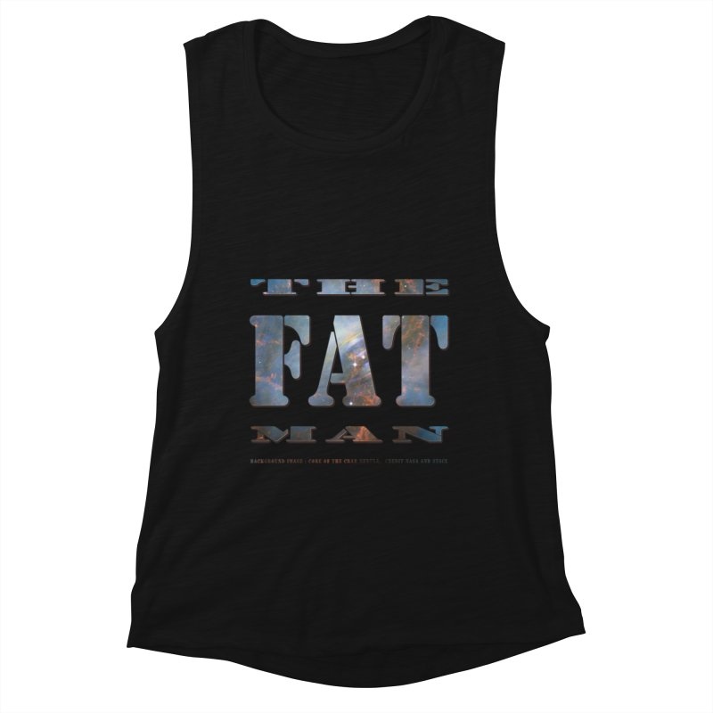 The Fat Man Women's Tank by Unhuman Design