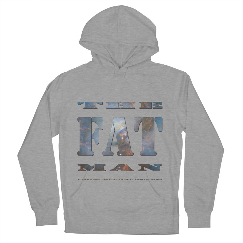 The Fat Man Men's Pullover Hoody by Unhuman Design